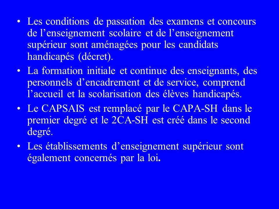 Langue des signes française (LSF) La LSF prend le statut de langue à part entière. Elle peut être choisie comme épreuve aux examens et concours y comp