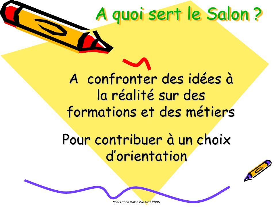 Conception Salon Contact 2006 Comment se servir du Salon .