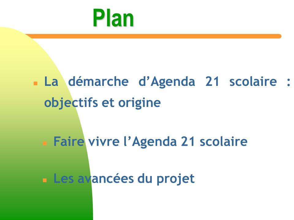 Les avancées du projet Définition dun plan de rénovation du lycée selon la norme HQE.