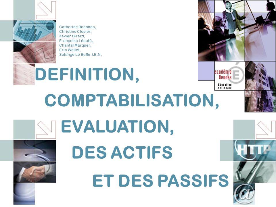 42 CERCLE DE REFLEXION – NOUVELLES NORMES COMPTABLES – ACADEMIE DE RENNES V DEFINITION DES PASSIFS