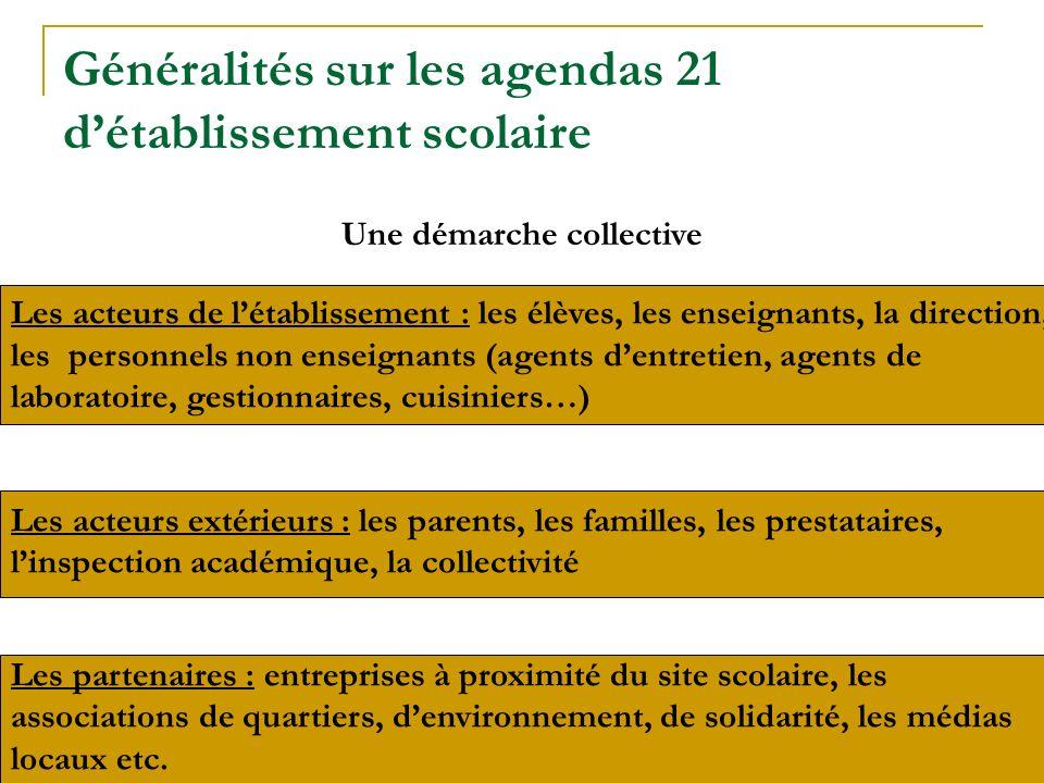 Les partenaires : entreprises à proximité du site scolaire, les associations de quartiers, denvironnement, de solidarité, les médias locaux etc. Les a