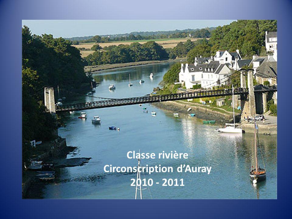 Classe rivière Circonscription dAuray 2010 - 2011