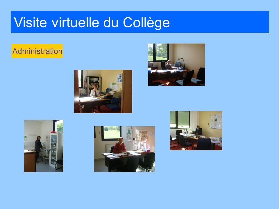 Visite virtuelle du Collège Administration
