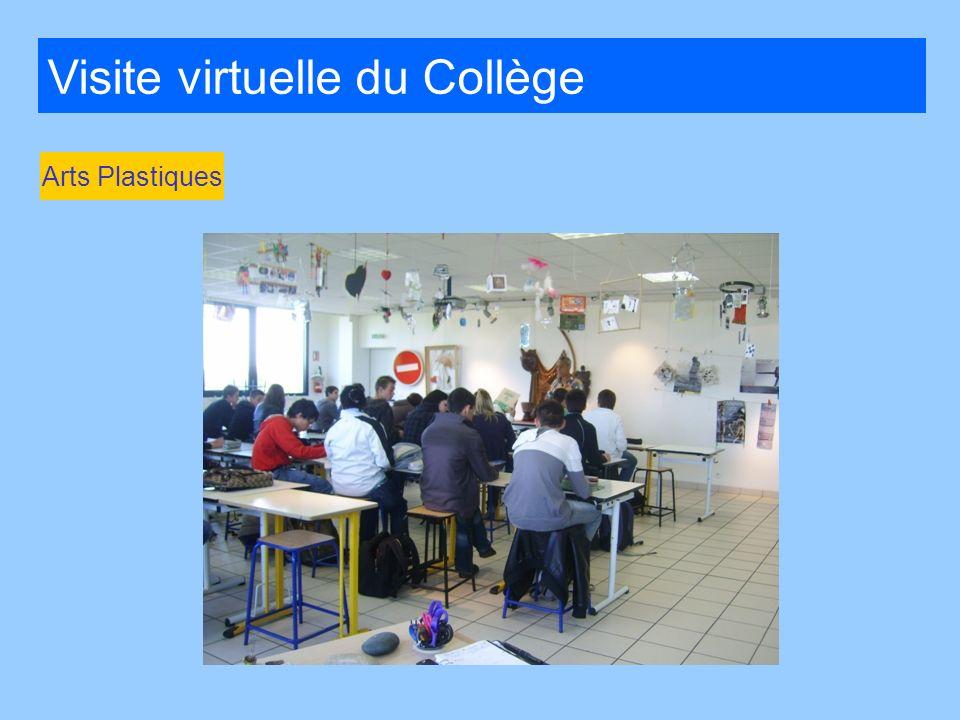 Visite virtuelle du Collège Arts Plastiques