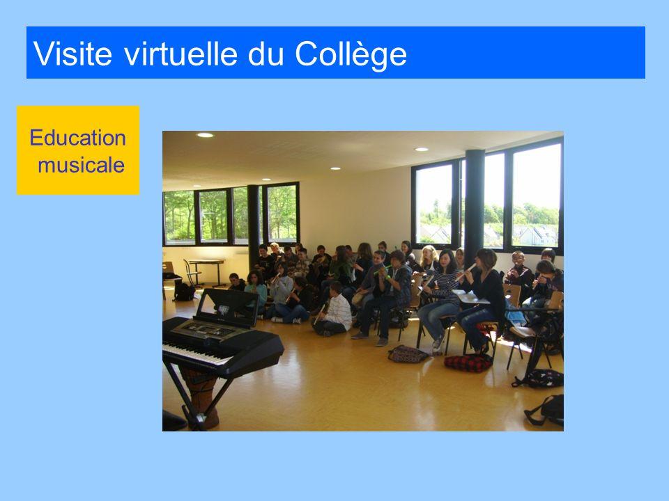 Visite virtuelle du Collège Education musicale
