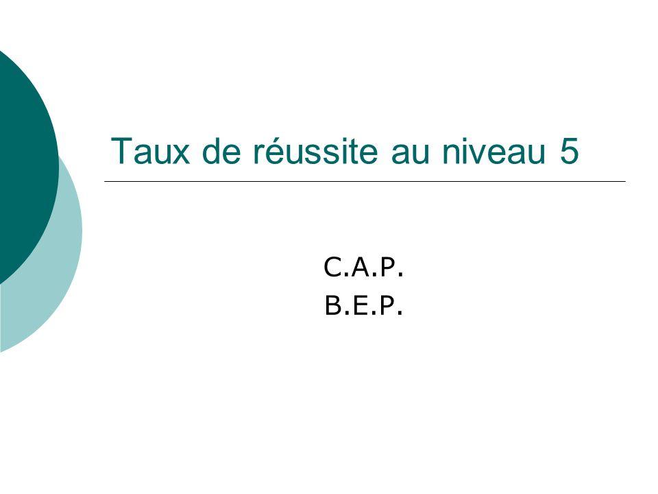 C.A.P. Filière de la logistique
