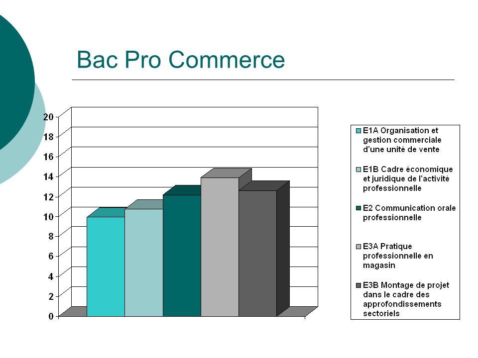 Bac Pro Commerce