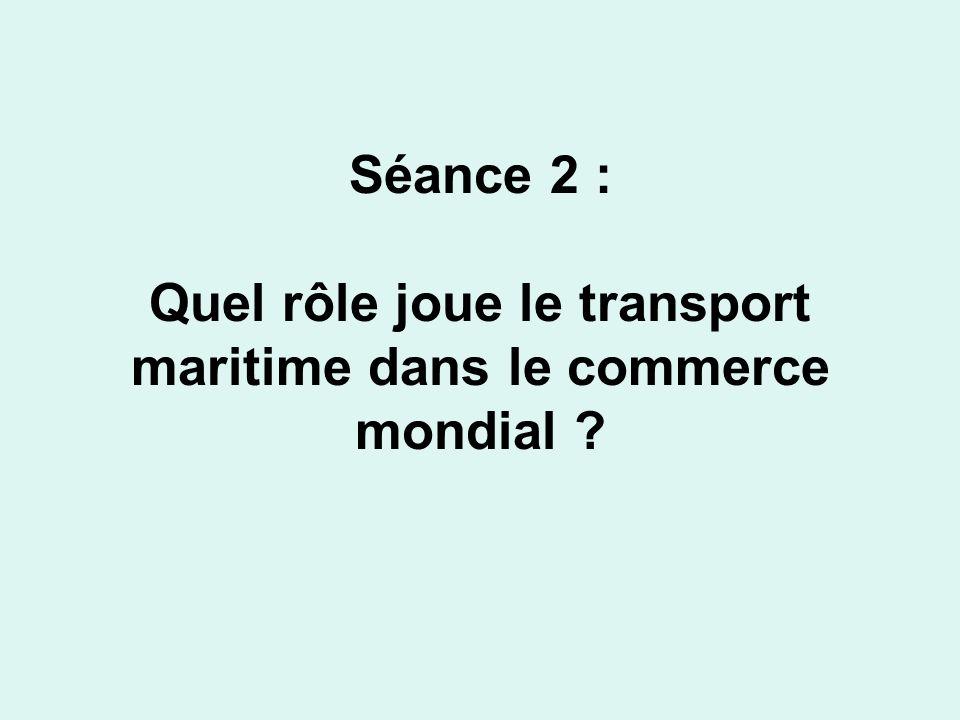 1) La conteneurisation On décrit la photographie dun porte- conteneurs à quai au port de Dunkerque (rappel de létude de cas).
