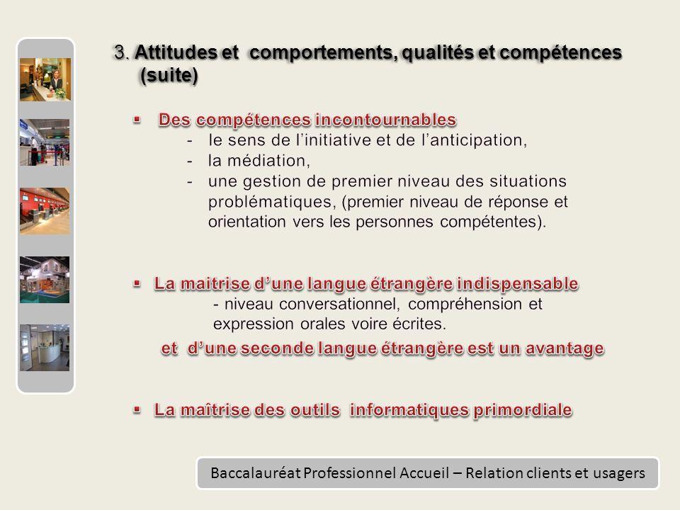 Baccalauréat Professionnel Accueil – Relation clients et usagers 3.