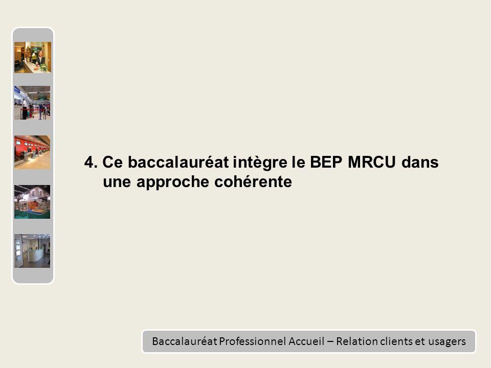 Baccalauréat Professionnel Accueil – Relation clients et usagers 4.