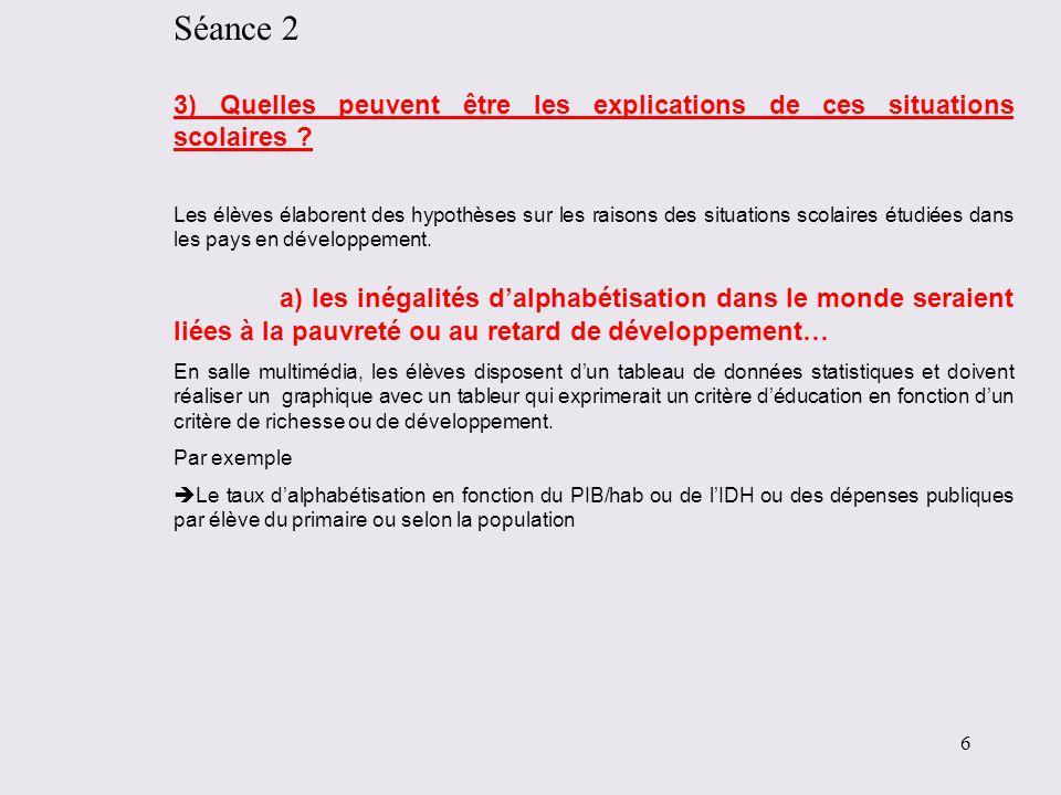 Taux brut dinscription en primaire, données les plus récentes pour chaque Etat entre 2000 et 2009 Sources : Portail Education de la Banque Mondiale http://web.worldbank.org/WBSITE/EXTERNAL/TOPICS/EXTEDUCATION/EXTDATASTATISTICS/EXTEDSTATS/0,,contentMDK:2160 3536~menuPK:4580850~pagePK:64168445~piPK:64168309~theSitePK:3232764,00.html http://web.worldbank.org/WBSITE/EXTERNAL/TOPICS/EXTEDUCATION/EXTDATASTATISTICS/EXTEDSTATS/0,,contentMDK:2160 3536~menuPK:4580850~pagePK:64168445~piPK:64168309~theSitePK:3232764,00.html 17