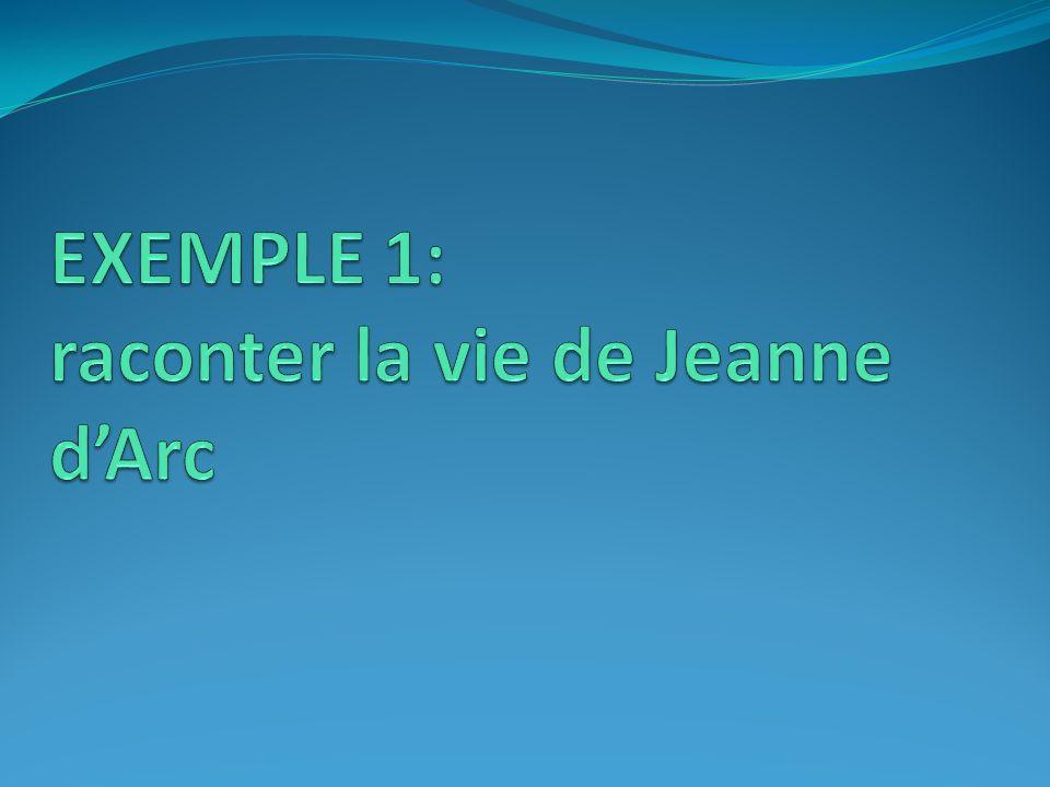 Documentation : Jeanne dArc (5 ème )