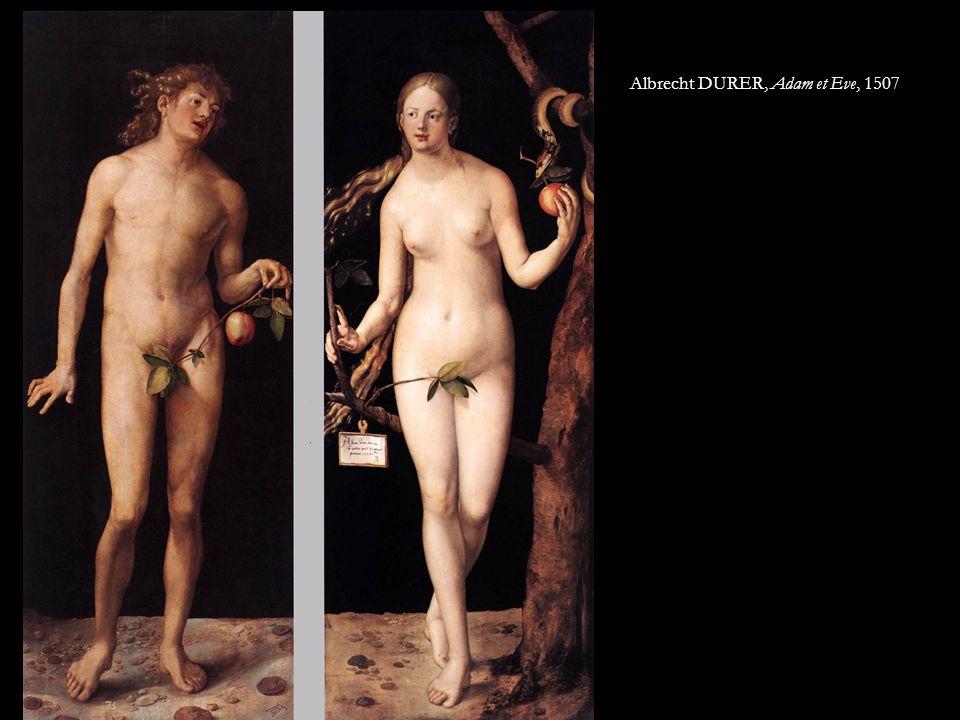 Albrecht DURER, Adam et Eve, 1507