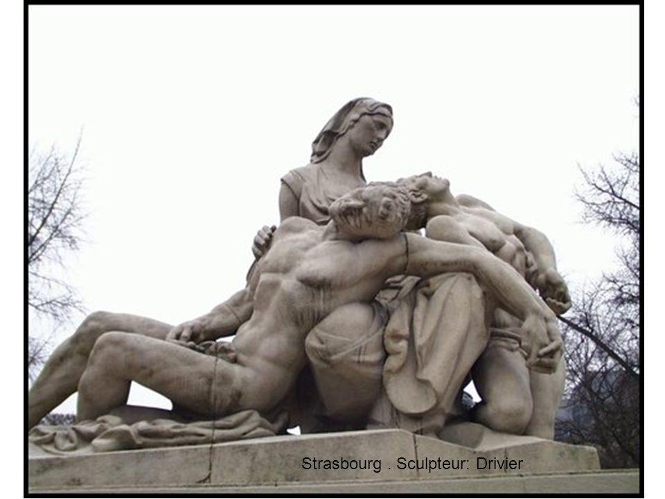 Strasbourg. Sculpteur: Drivier