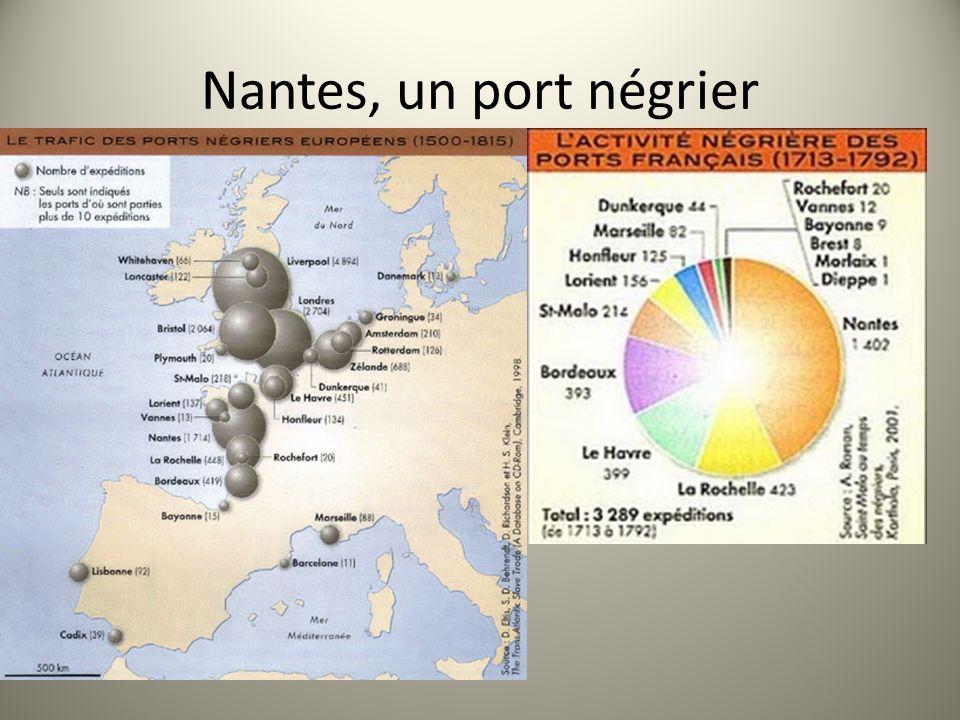 Nantes, un port négrier