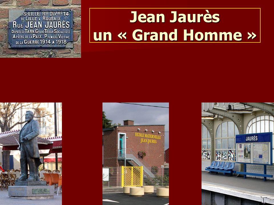 Pascale Monnet-Chaloin Jean Jaurès un « Grand Homme »
