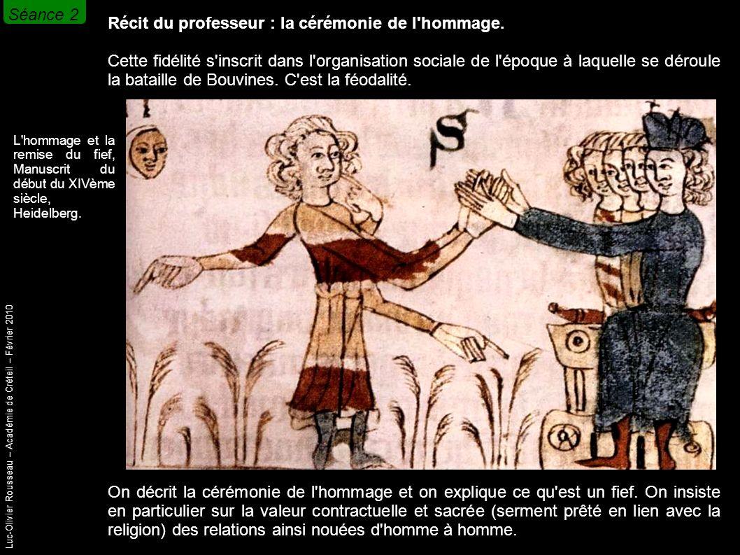 Luc-Olivier Rousseau – Académie de Créteil – Février 2010 Récit du professeur : la cérémonie de l hommage.