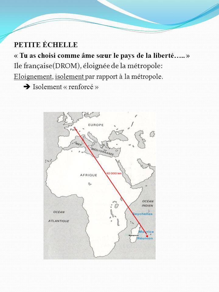 LE CLIMAT Idées ou mots clé à retenir : « sud est de lAfrique,au large de Madagascar, île tropicale »