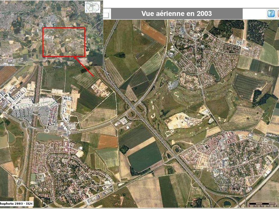 Vue aérienne en 2003