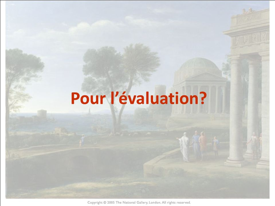 HISTOIRE DES ARTS Pour lévaluation?