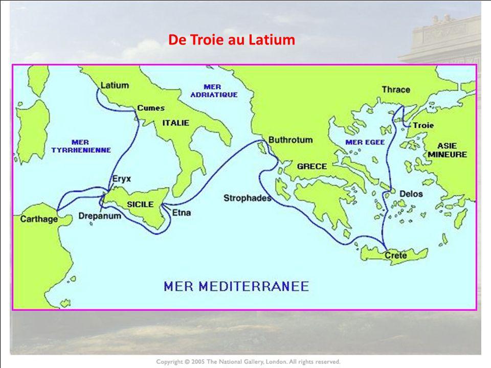 HISTOIRE DES ARTS De Troie au Latium