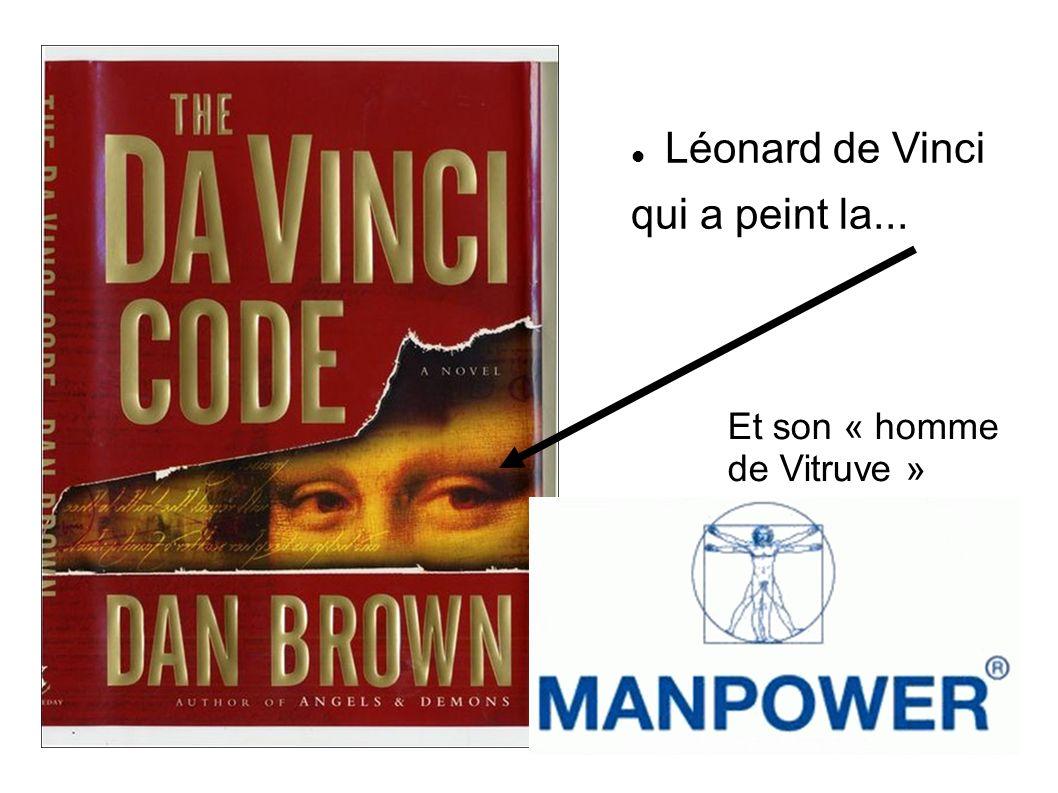 Léonard de Vinci qui a peint la... Et son « homme de Vitruve »