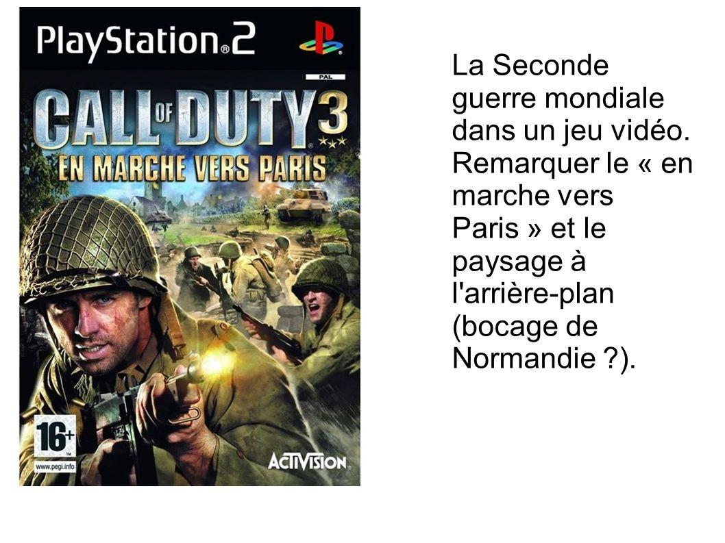 La Seconde guerre mondiale dans un jeu vidéo.