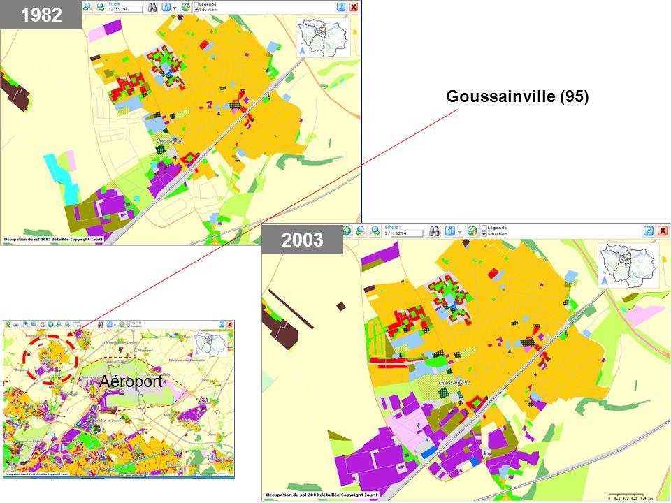 1982 2003 Goussainville (95) Aéroport