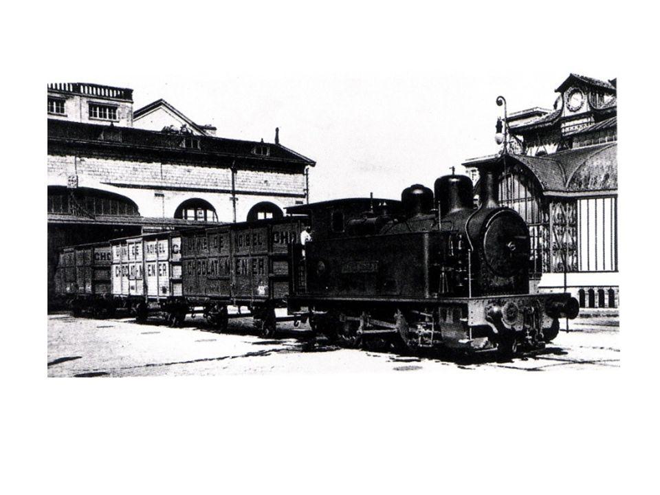 à partir du travail réalisé en séance 2 : comment lassociation de la sidérurgie et de la vapeur permettent-ils daccélérer le transport des marchandises dans lusine Menier ?