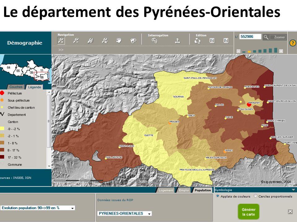Le département des Pyrénées-Orientales