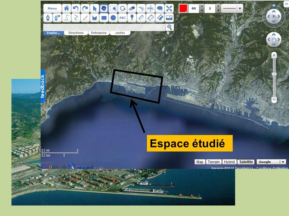 Le port de Voltri, à lOuest de Gênes Espace étudié