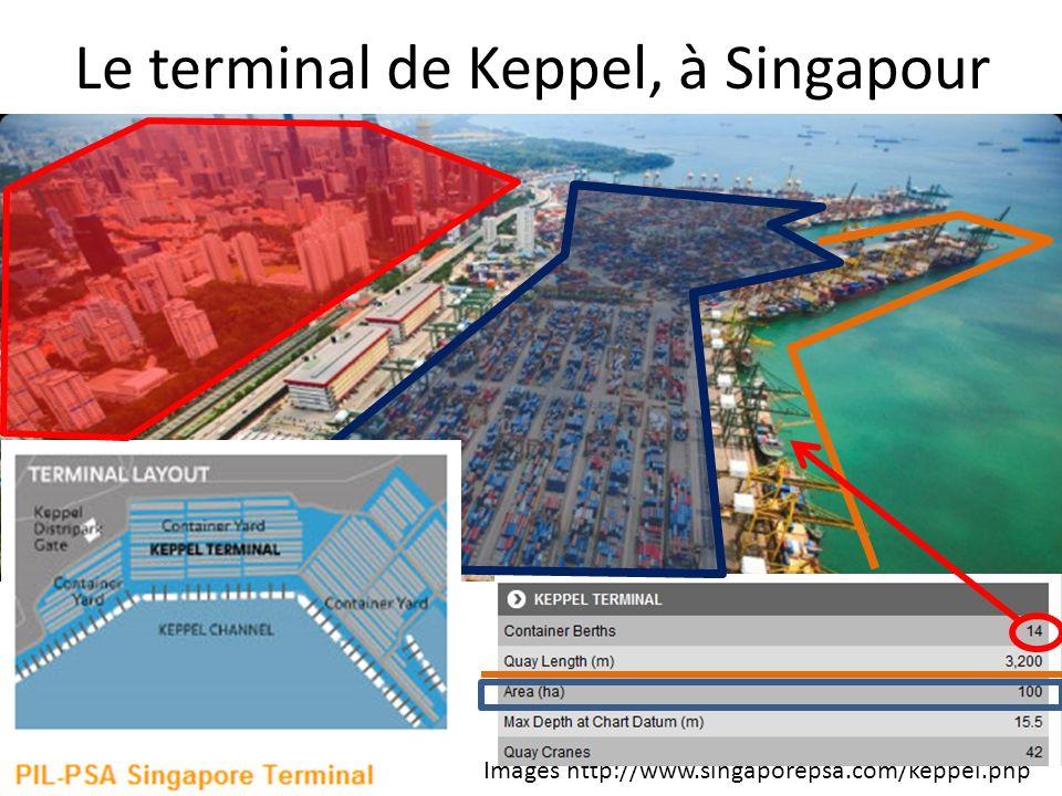 Le terminal de Keppel, à Singapour Images http://www.singaporepsa.com/keppel.php