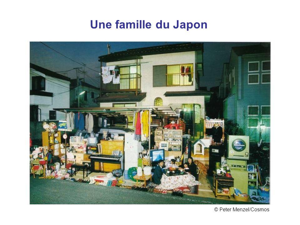 Japon Une famille du Japon © Peter Menzel/Cosmos