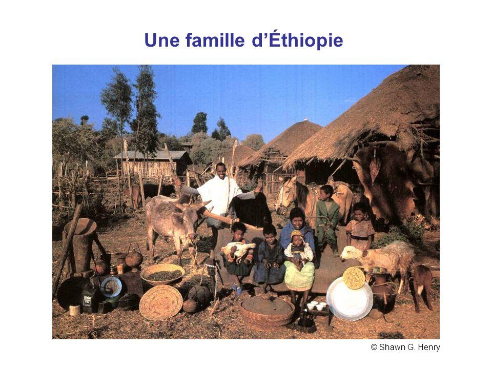 Éthiopi e Une famille dÉthiopie © Shawn G. Henry