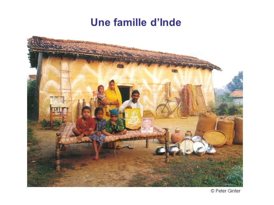 Inde Une famille dInde © Peter Ginter