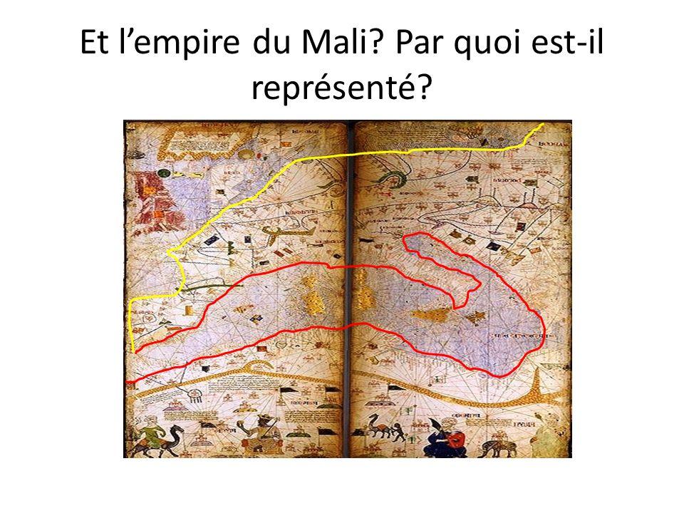 Et lempire du Mali? Par quoi est-il représenté?