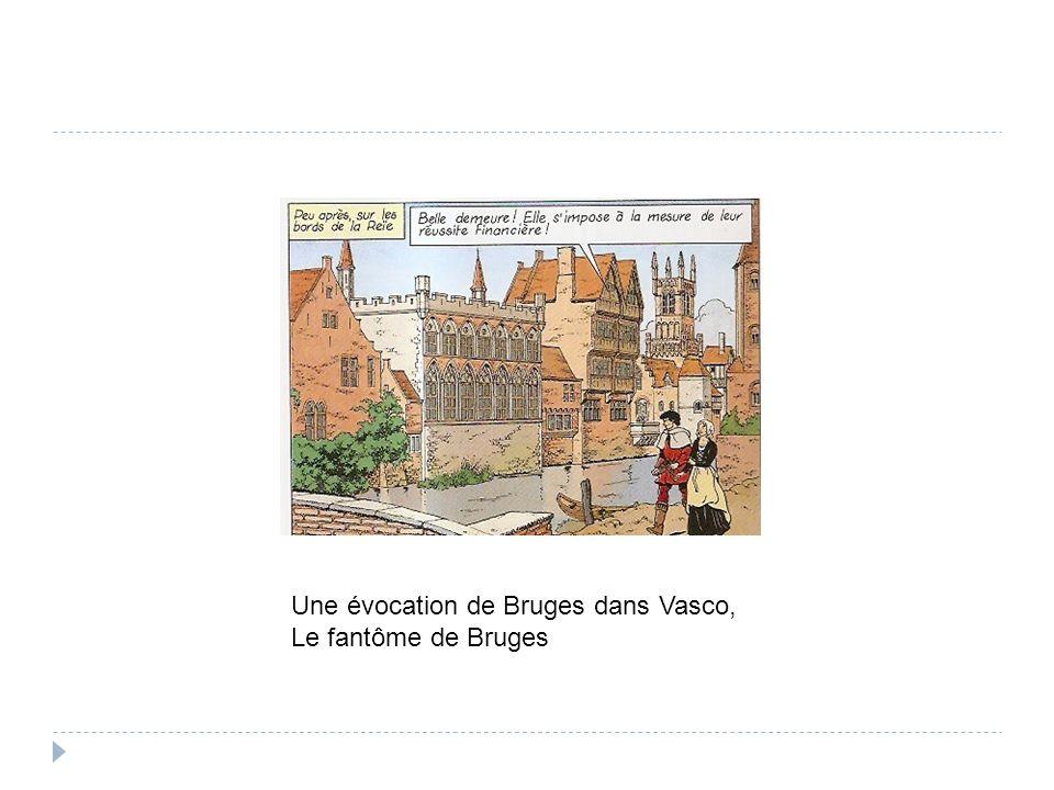 Une évocation de Bruges dans Vasco, Le fantôme de Bruges