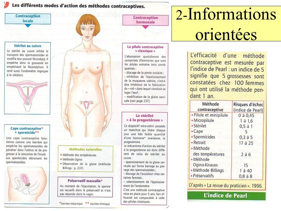 2- Informations orientées