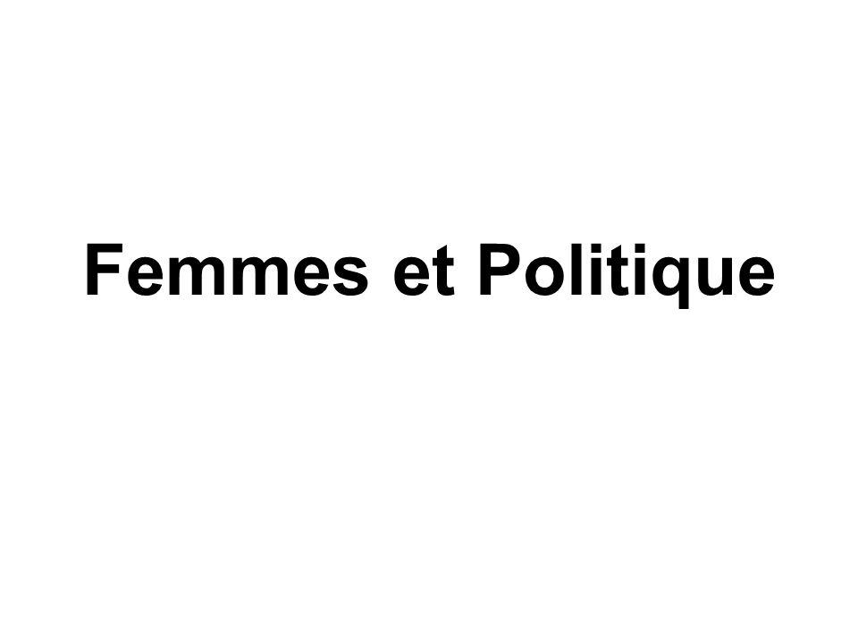 Femmes et Politique