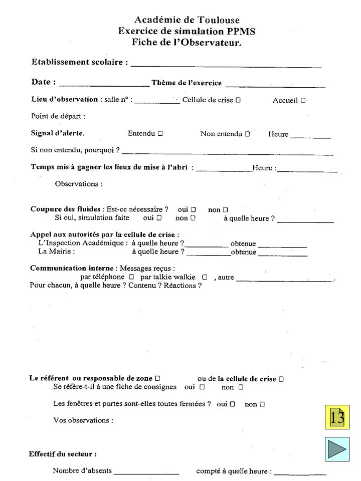 Fiche exercice 13