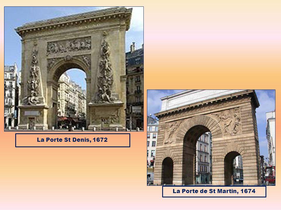 La Porte St Denis, 1672 La Porte de St Martin, 1674