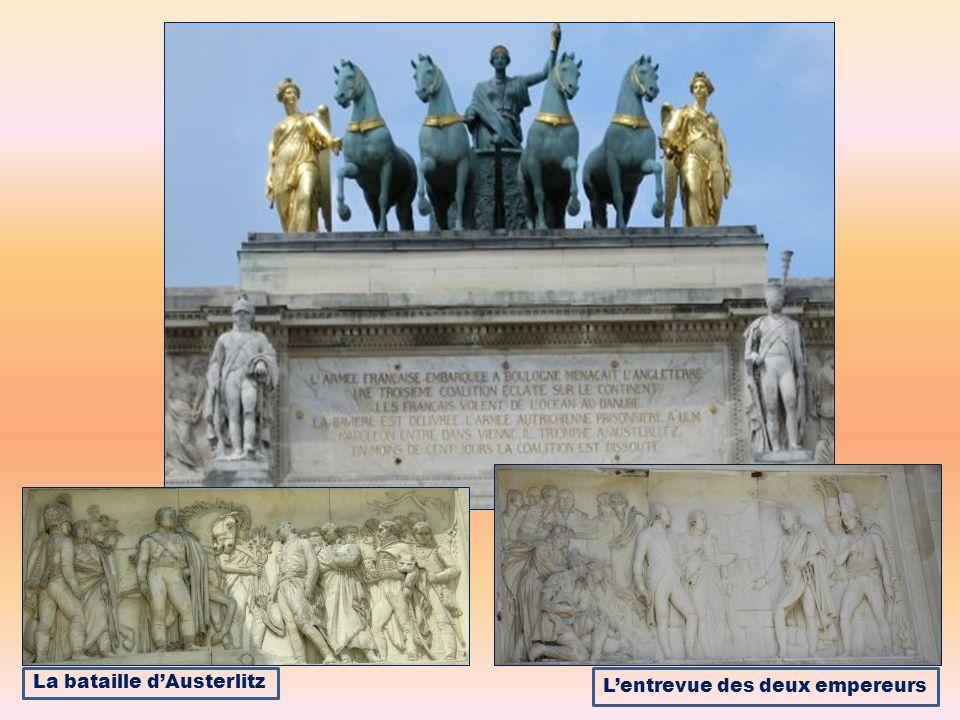 La bataille dAusterlitz Lentrevue des deux empereurs