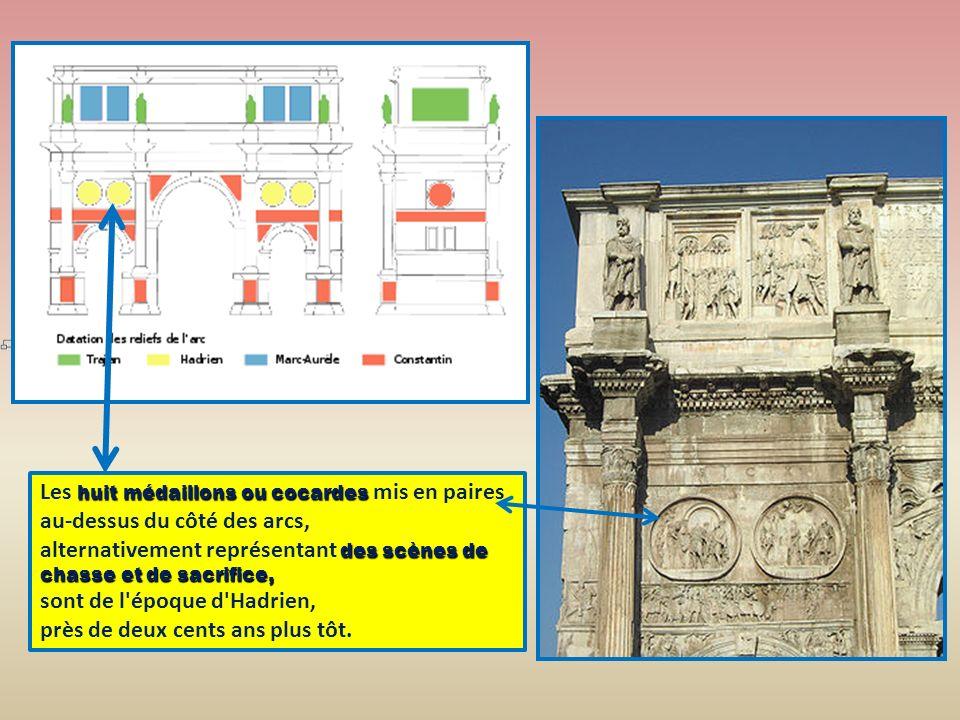 la partie inférieure de l édifice probablement de l époque dHadrien plutôt qu à la construction du IVème siècle.