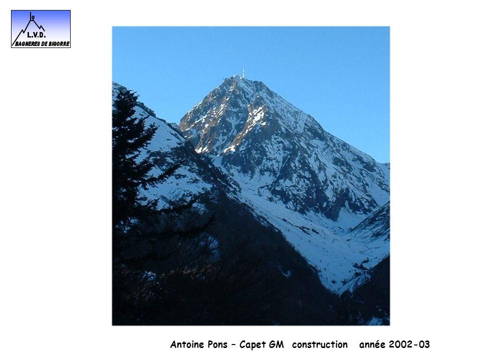 Antoine Pons – Capet GM construction année 2002-03