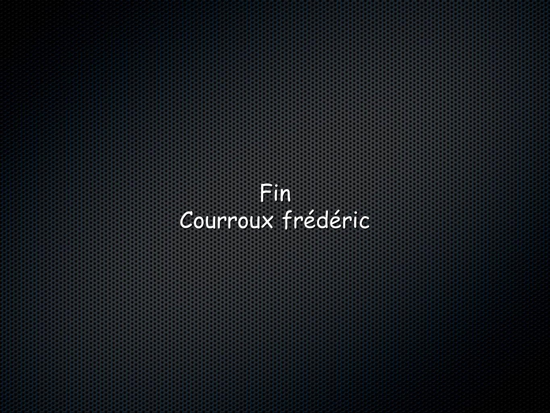 Fin Courroux frédéric