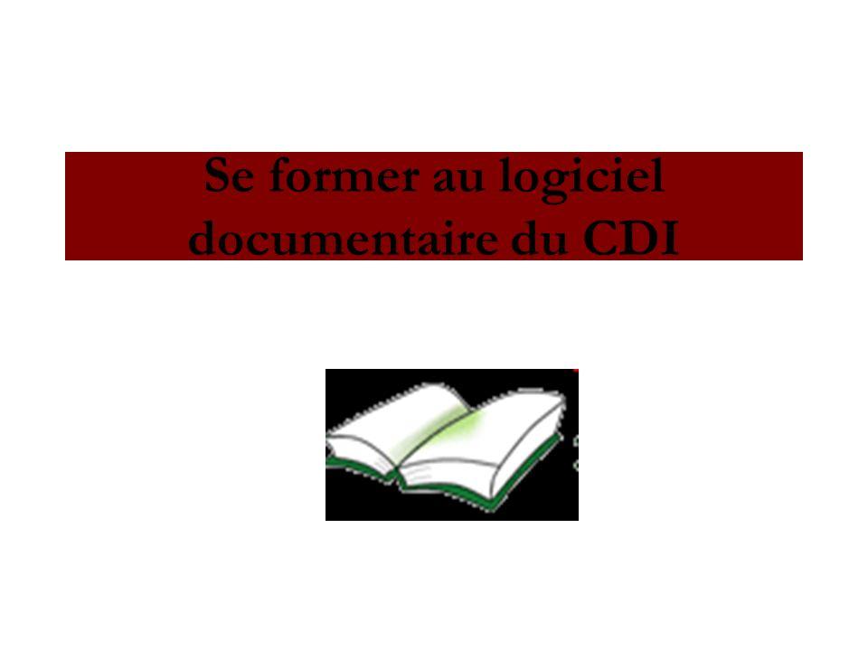 Se former au logiciel documentaire du CDI