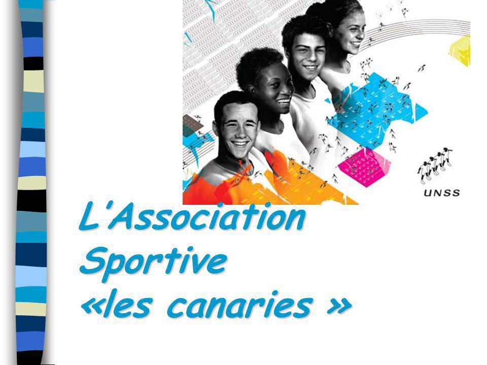 LAssociation Sportive «les canaries »