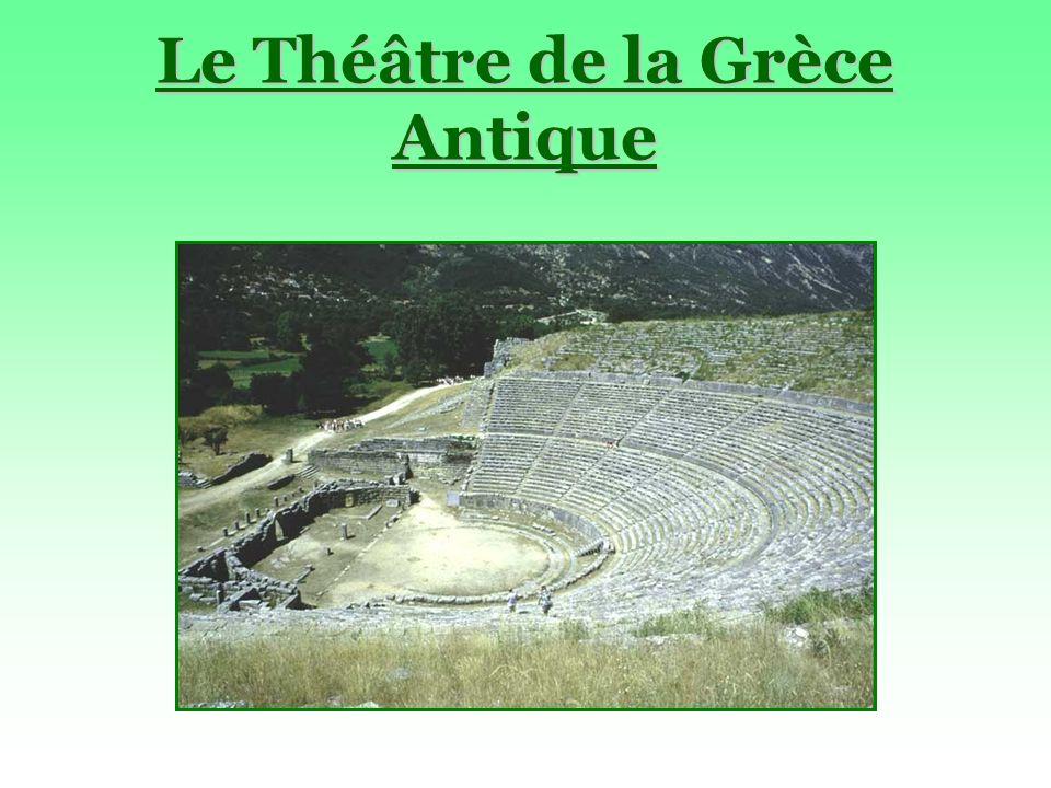 Le Théâtre de la Grèce Antique