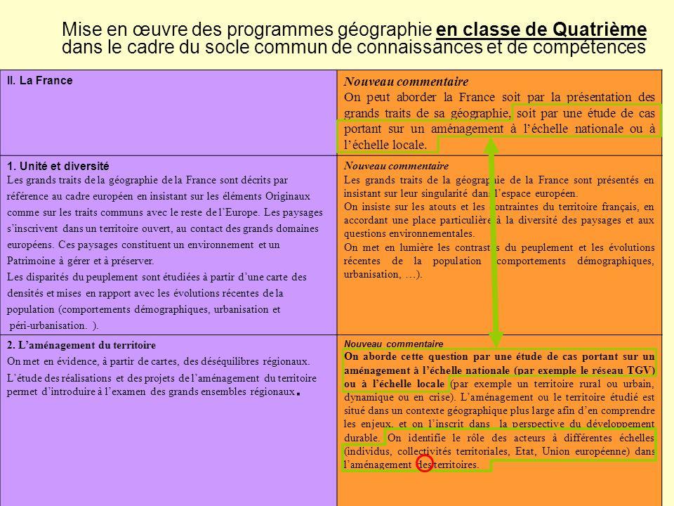 II.La France 3.