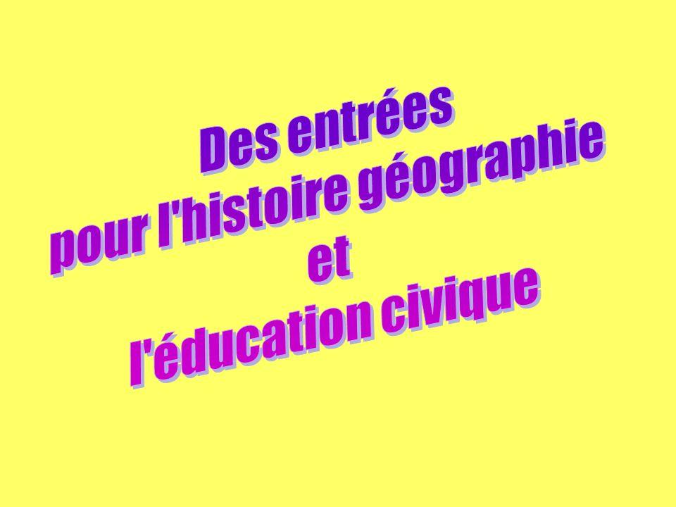 ENERGIE Niveaux Disciplines 6e6e 5e5e 4e4e 3e3e Histoire- géographie - Les grands types de paysages (littoraux, paysages de faible occupation humaine - Les progrès économiques( XII XIII siècles) - LAfrique - Le Maghreb - La Chine - Lâge industriel (III) - La Russie - Laménagement du territoire, ensembles régionaux pour la France (II-2) (dont réseaux de transport) - Lenvironnement et puissance économique in les trois puissances économiques majeures (III) et la France (IV-2) - Lévolution du cadre de vie in les mutations de léconomie française et leurs conséquences géographiques (IV) Education civique - Responsabilité vis à vis du cadre de vie et de lenvironnement - La sécurité face aux risques majeurs (III-2) dont les atteintes à lenvironnement - Lexpertise scientifique et technique dans la démocratie (D)